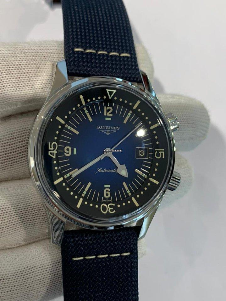 Longines Legend Diver L37744902 2021 new