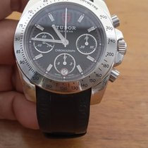 Tudor Sport Chronograph Steel 41mm Black No numerals United States of America, New York, new york