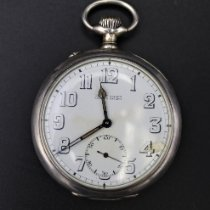 Ulysse Nardin Watch pre-owned 1917 Silver Manual winding Watch only
