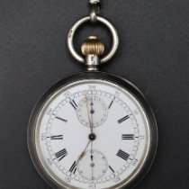 Omega Watch pre-owned 1898 Silver Manual winding Watch only