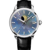 Ball Trainmaster Steel 34mm Mother of pearl No numerals United States of America, New Jersey, River Edge