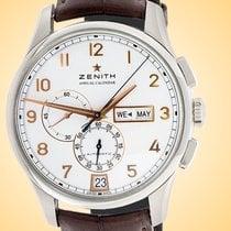 Zenith El Primero Winsor Annual Calendar Acier 42mm Blanc Arabes