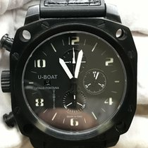 U-Boat Thousands of Feet Steel 50mm Black Arabic numerals