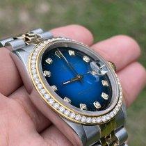 Rolex Datejust Steel 36mm Blue No numerals Thailand, Mueang Roi Et