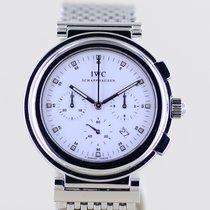 IWC Da Vinci Chronograph Сталь 37mm Белый Без цифр