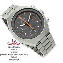 Omega Speedmaster Mark II Acero 42.4mm Naranja Sin cifras