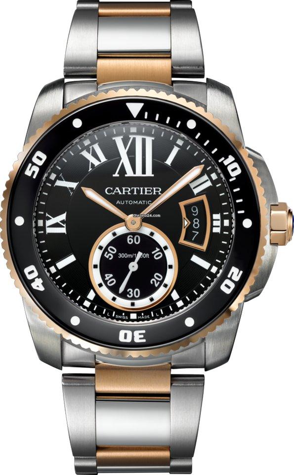 Cartier Calibre de Cartier Diver w7100054 pre-owned