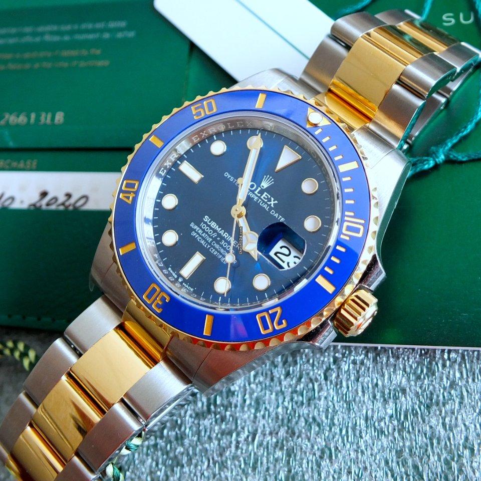Rolex Submariner Date 126613lb 2020 neu
