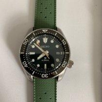 Seiko Prospex Steel 42mm Green No numerals