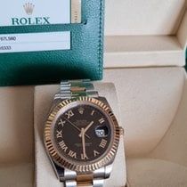 Rolex Yellow gold 41mm pre-owned Datejust II