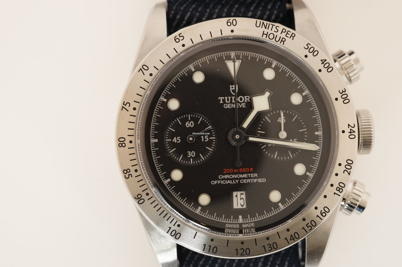 Tudor Black Bay Chrono 79350-0003 2021 nuevo