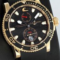 Ulysse Nardin Maxi Marine Diver Pозовое золото 42.7mm Черный