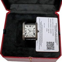 Cartier Tank MC Steel 34mm White Roman numerals United States of America, Florida, Fort Lauderdale