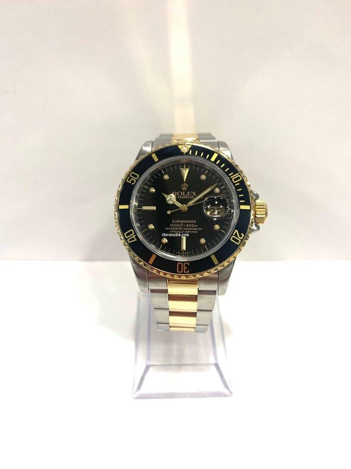 Rolex Submariner Date 16803 1984 usados