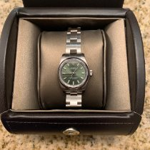 Rolex Oyster Perpetual 26 Steel 26mm Green Arabic numerals United States of America, Pennsylvania, BENSALEM