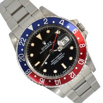 Rolex GMT-Master Steel 40mm Black No numerals