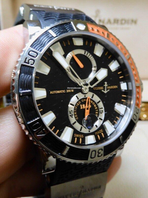 Ulysse Nardin Maxi Marine Diver 263-90 pre-owned