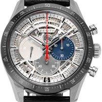 Zenith 95.3001.3600/69.C817 Titanium 2020 El Primero Chronomaster 42mm tweedehands
