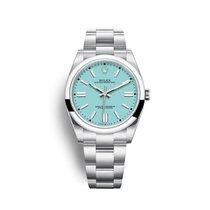 勞力士 Oyster Perpetual 新的 2021 自動發條 附正版包裝盒和原版文件的手錶 124300