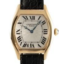 Cartier Tortue Желтое золото 32.5mm Cеребро