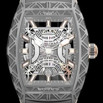 Cvstos new Automatic Skeletonized Limited Edition 53.7mm Steel Sapphire crystal