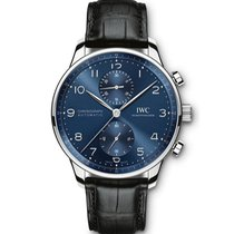 IWC Portuguese Chronograph new 2021 Automatic Chronograph Watch with original box and original papers IW371606