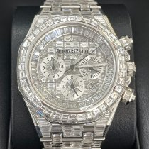 Audemars Piguet Royal Oak Chronograph White gold 41mm Transparent No numerals United States of America, New Jersey, Totowa