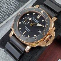 Panerai Luminor Submersible 1950 3 Days Automatic Rose gold 42mm Black No numerals United States of America, California, Los Angeles