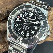 Breitling Superocean II 42 Steel 42mm Black