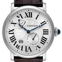 Cartier Rotonde de Cartier White gold 42mm Silver Roman numerals United States of America, Georgia, Atlanta