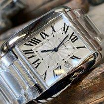 Cartier Tank Anglaise nieuw 2021 Automatisch Horloge met originele doos en originele papieren w5310008