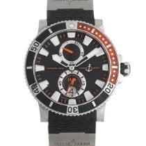 Ulysse Nardin Titanium Automatic Black 45mm pre-owned Maxi Marine Diver