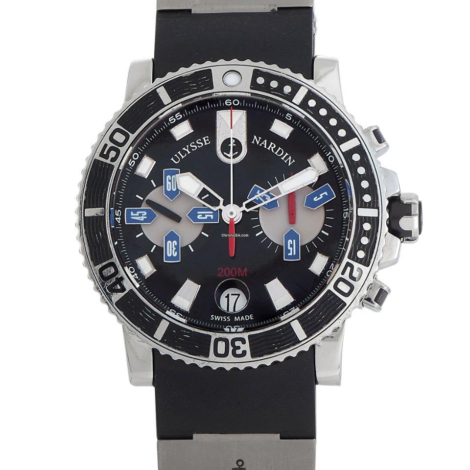 Ulysse Nardin Maxi Marine Diver 8003-102-3-02 pre-owned