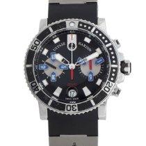 Ulysse Nardin Maxi Marine Diver Сталь 42.7mm Черный