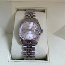 Rolex Silver Automatic Pink 31mm pre-owned Lady-Datejust