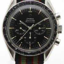 Omega Speedmaster Professional Moonwatch tweedehands 42mm Zwart Chronograaf Textiel