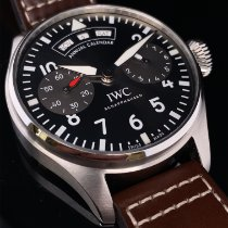 IWC Big Pilot Steel 46.2mm Grey Arabic numerals
