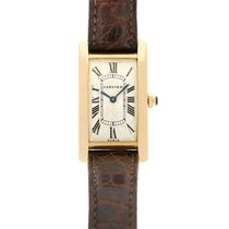 Cartier Tank (submodel) Yellow gold 20mm Champagne United States of America, California, Beverly Hills