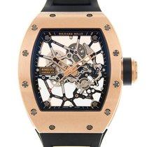 Richard Mille Pозовое золото Механические Прозрачный Без цифр 48mm подержанные RM 035