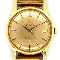 Omega 14393/4 Geelgoud 1960 Constellation 34,3mm tweedehands