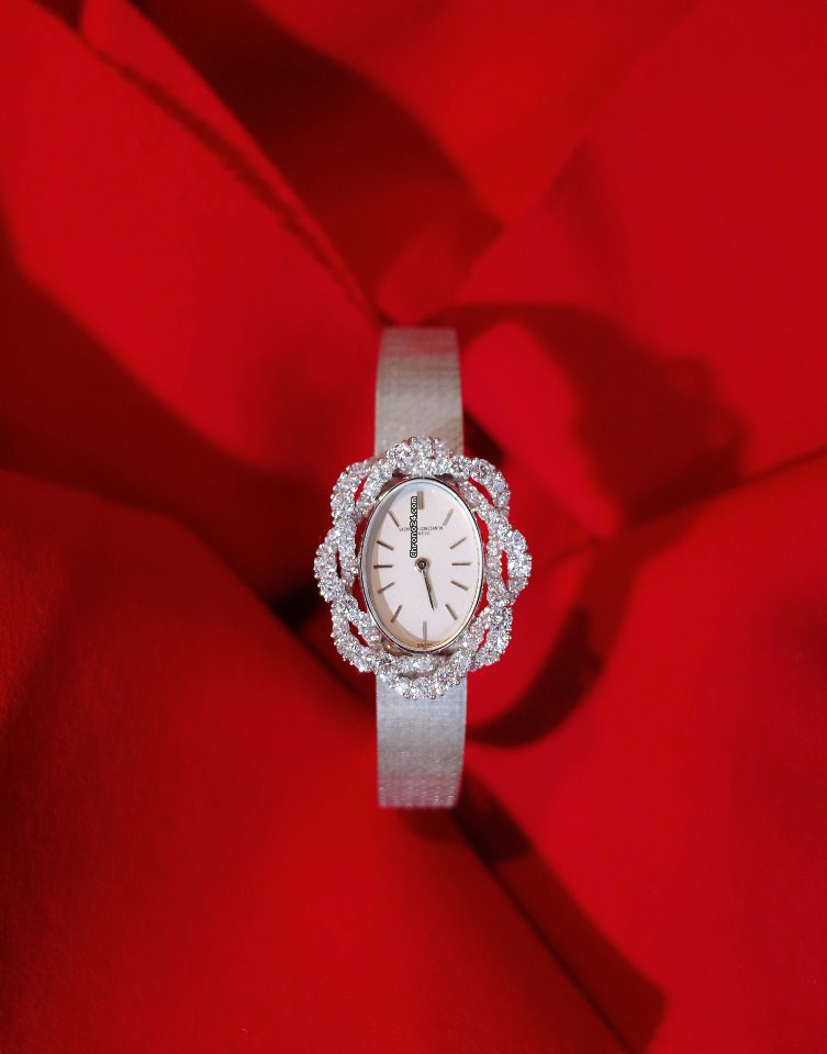 Vacheron Constantin Vintage Vacheron Constantin ladies 18k white gold diamonds manual wind watch 1960 pre-owned
