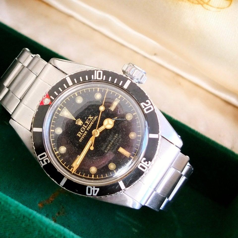 Rolex Submariner 6538 Big Crown James Bond 1956 pre-owned
