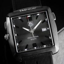 TAG Heuer Professional Golf Watch Stahl 36mm Grau Arabisch