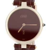 Cartier Sarı altın 30mm Quartz ikinci el
