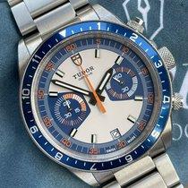 Tudor Heritage Chrono Blue usados 42mm Azul Cronógrafo Fecha Acero