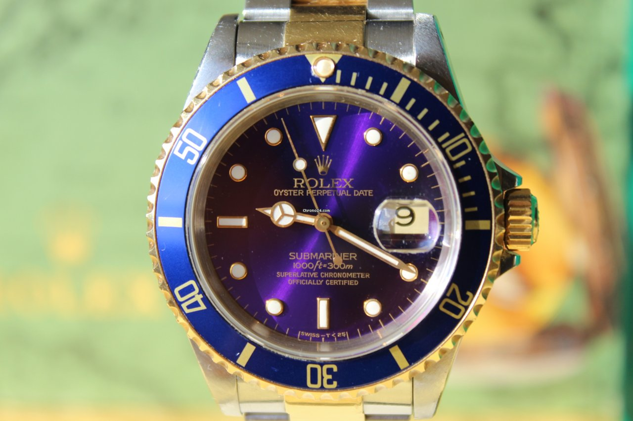 Rolex Submariner Date 16613 Sultan 1991 pre-owned