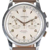 Lemania Acier 38mm Remontage manuel 253/14 occasion