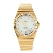 Omega Constellation Double Eagle Yellow gold 31mm White United States of America, New York, New York