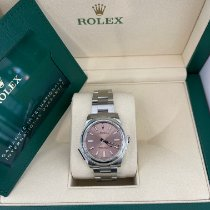 Rolex Oyster Perpetual 34 Steel 34mm Pink No numerals United States of America, California, Los Angeles