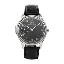 IWC Portuguese Minute Repeater White gold 43mm Grey Arabic numerals United States of America, Pennsylvania, Bala Cynwyd